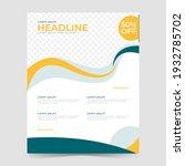 abstract business flyer... | Shutterstock .eps vector #1932785702