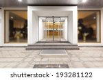 hotel entrance | Shutterstock . vector #193281122