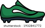 american football boot icon....
