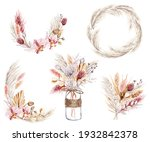 Dried Flowers  Floral Set ...