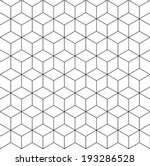 pattern cube background  | Shutterstock .eps vector #193286528