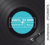 Vinyl Record 33 Rpm Mock Up 03
