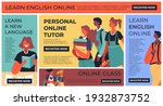 personal training in english... | Shutterstock .eps vector #1932873752