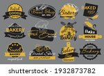 fashionable sticker for bread... | Shutterstock .eps vector #1932873782