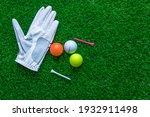 Golf Glove  Colorful Ball  Tee...