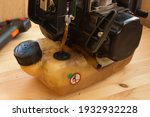 Two Stroke Lawn Trimmer Engine...