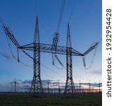 High Voltage Electric Pole And...