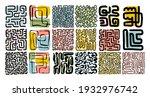 abstract art composition.... | Shutterstock .eps vector #1932976742