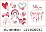set card clipart bohemian...   Shutterstock .eps vector #1933035062