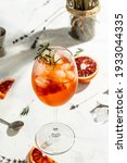 Italian Aperol Spritz Cocktail...