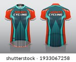 jersey design for cycling ... | Shutterstock .eps vector #1933067258