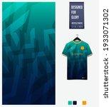 soccer jersey pattern design.... | Shutterstock .eps vector #1933071302