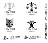 simple lawyer logo using double ...   Shutterstock .eps vector #1933090418