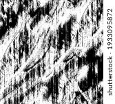 grunge black and white. texture ... | Shutterstock .eps vector #1933095872
