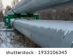 Central Heating Pipes In A...