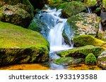 waterfall of jedlova. small... | Shutterstock . vector #1933193588