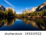 the bridalveil fall and the el... | Shutterstock . vector #193319522