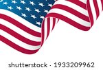 the flag of the united states... | Shutterstock .eps vector #1933209962