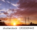 A Silhouette Of High Voltage...