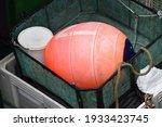 Orange Buoy On A Fishing Boat