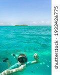 Beautiful Underwater View Of...
