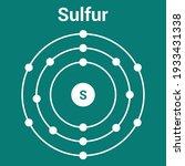 Bohr Model Of The Sulfur Atom....