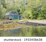 Boat House In Saturday Cove...