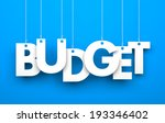 budget. word on strings | Shutterstock . vector #193346402