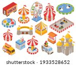 isometric set of colorful icons ...   Shutterstock .eps vector #1933528652