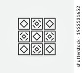 ceramic tiles vector concept... | Shutterstock .eps vector #1933531652
