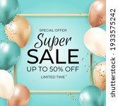 super sale limited time... | Shutterstock .eps vector #1933575242