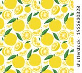 yuzu japanese citron fruit...   Shutterstock .eps vector #1933630328