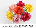Handmade Rose Flowers Made From ...