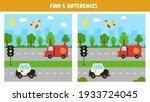 find five differences between... | Shutterstock .eps vector #1933724045