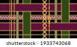 seamless pattern decorated with ... | Shutterstock .eps vector #1933743068