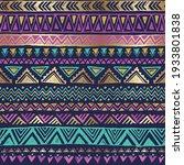 seamless pattern shine ethnic...   Shutterstock .eps vector #1933801838