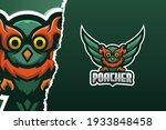 owl poacher e sport game logo... | Shutterstock .eps vector #1933848458