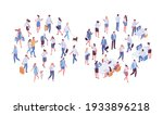 different isometric people...   Shutterstock .eps vector #1933896218