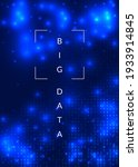 deep learning concept. digital... | Shutterstock .eps vector #1933914845