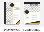 modern business brochure...   Shutterstock .eps vector #1933929032