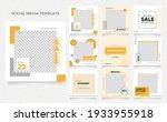 social media template banner... | Shutterstock .eps vector #1933955918