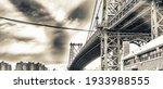 The Manhattan Bridge  New York...