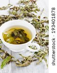 cup of fresh tea from the dried ... | Shutterstock . vector #193401878