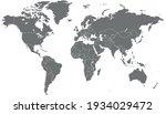 world map color vector modern....   Shutterstock .eps vector #1934029472