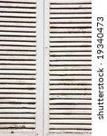 colonial style window shutters | Shutterstock . vector #19340473