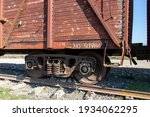 Vintage Wooden Train Wagons....