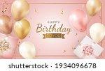 happy party birthday background ...   Shutterstock .eps vector #1934096678
