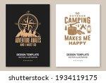 set of outdoor adventure... | Shutterstock .eps vector #1934119175