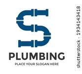 s letter vector logo template.... | Shutterstock .eps vector #1934143418
