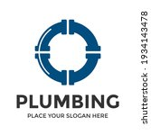 o letter vector logo template.... | Shutterstock .eps vector #1934143478